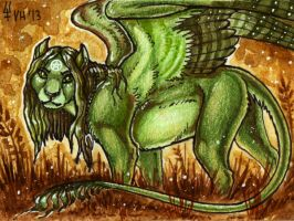 ACEO trade: Teegee'ay by VentralHound
