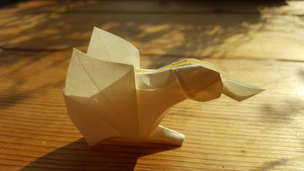 Origami: Odd Duck by p4ndor4TheBox