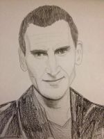 Christopher Eccleston as the 9th Doctor by epicamytime