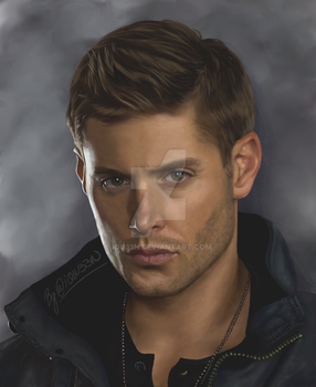 Dean Winchester by iQU33N