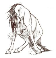 Ballpoint Bronco by Jenociide