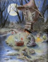 The Little Witch by asiapasek