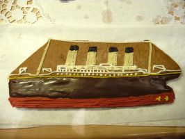 Gingerbread R.M.S. Titanic by The-Black-Panther