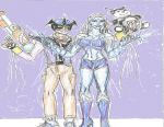 killer Frost and Toyman by theaven