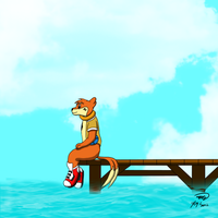 On the Pier by Threehorn