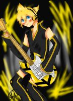 Len Shota Shota Burning Night by MoonofTheGothicJinks