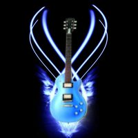 Ice Guitar by Neo2009
