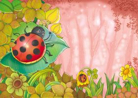 Ladybird Song by aditgalihilustration