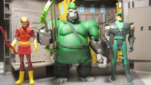 DC SUPER-PETS GREEN ARROW AND APE ARCHER by monitor-earthprime