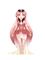 Pink Elf Doll by Timeles