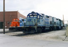 CSX GP15-1s at Clyde by eyepilot13