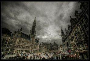 Bruxelles Center by zardo