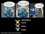 Shovel Knight vs the Order of No Fun Allowed by Borishehe