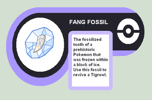 Fang Fossil by Cerulebell