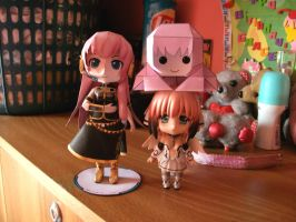 Luka and Tako Luka Papermodels:Special Shots 5 by MarcGo26