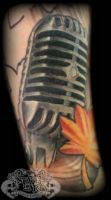 Microphone by state-of-art-tattoo