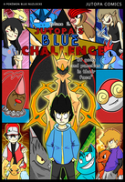 Jutopa's Blue Challenge Vol 2. Cover by Jutopa