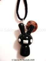 Mr Bunny Necklace by ChocoAng3l