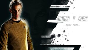 James T. Kirk by Sandeyes