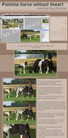 Tutorial: horse painting by Aomori