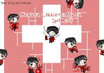 + Crocker Corrupted!Euler Shimeji + by SerketStalker