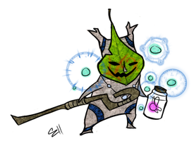 Korok Shaman by Zito-is-Neato