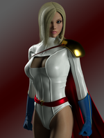 Power Girl by ironhead333