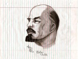 Lenin Sketch by dirtbiker715
