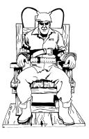 Electric Chair Ink Wip2 by Blaze-Belushi