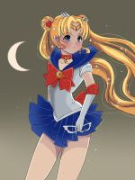 Pretty Soldier Sailor Moon by Parikuu