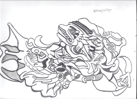 Abstract of sorts by Foxeysoulslayer