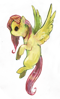 zombie fluttershy by RolfeDOL