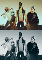 masked delinquents by smokeplanet