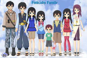 Fenicalm Family by RJAce1014