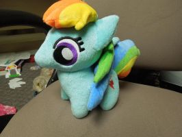 Chibi Rainbow Dash Plush by Tailji