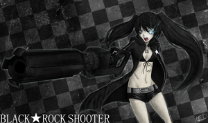 Black Rock Shooter by strawberryjamm