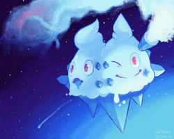 The Snowstorm Pokemon by HonaSoma