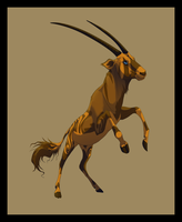 Oryx Character by Sidensvans