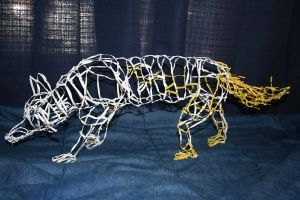 Twist Tie Fox side view by CentiumCuspis