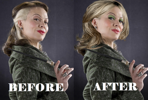Narcissa Malfoy Bef and Aft by alittlegrim