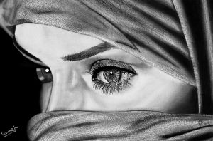 Beautiful Arab Eyes by Romeoartist