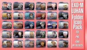 Random Pictures of Luhan Folder Icon Pack by Rizzie23