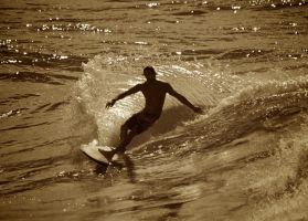 Surfing In Anglet 4 by Abylone