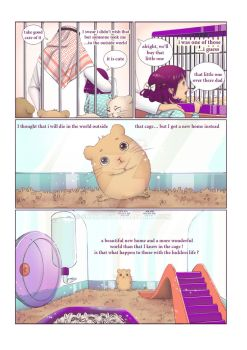 hamster cage short comics 2 by shakabet