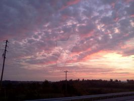 A Cloudy Sunrise While Going Home 3 by dhbraley
