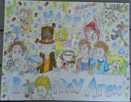 Alex's Birthday Poster by ol-bear