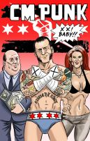 Cm Punk Comic by jkipper