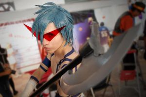 Kamina Attack by Uchiha-Joey
