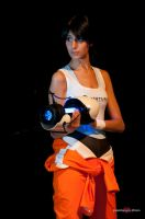 cosplay Chell -2 by sadakochan87