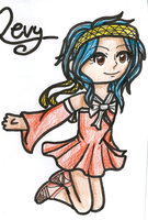 Levy Chibi by simple-colours